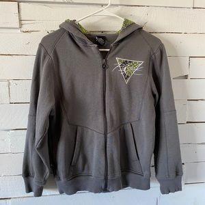 Jordan Flight Boys Zip Up Hoodie Jacket Size L